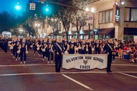 Silverton Marching Band places 2nd at Starlight Parade