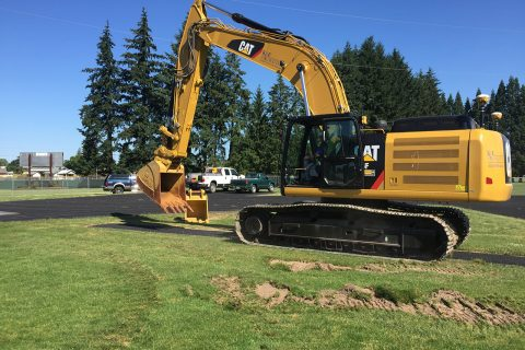 McGinnis Field Construction Begins